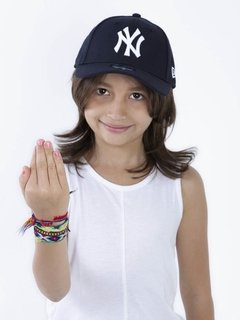 Imagem do Boné Infantil New Era Mlb 9Forty New York Yankees Azul Mbg19bon007