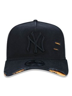Boné New Era 9Forty MLB New York Yankees Preto MBP19BON064 - comprar online