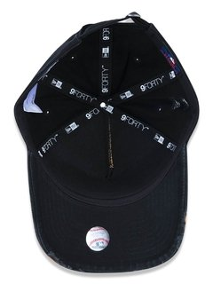 Boné New Era 9Forty MLB New York Yankees Preto MBP19BON064 - loja online