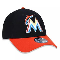 Boné New Era 9Forty MLB Miami Marlins Preto MBPERBON394