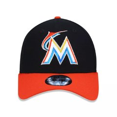 Boné New Era 9Forty MLB Miami Marlins Preto MBPERBON394 - comprar online