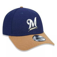 Boné New Era 9Forty MLB Milwaukee Brewers Azul MBPERBON398