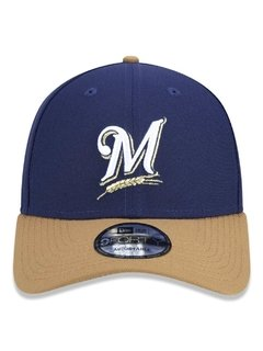 Boné New Era 9Forty MLB Milwaukee Brewers Azul MBPERBON398 - comprar online