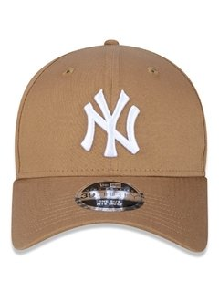 Boné New Era MLB 39Thirty New York Yankees Bege MBV17BON206 na internet
