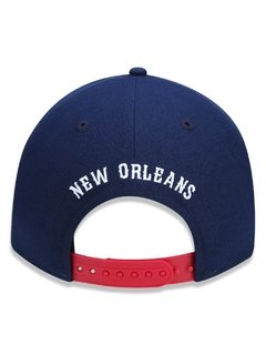 Boné New Era 9Forty NBA New Orleans Pelicans Azul NBV18BON408 - newera