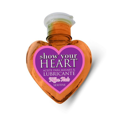 Aceite para masajes Show Your Heart Sexitive