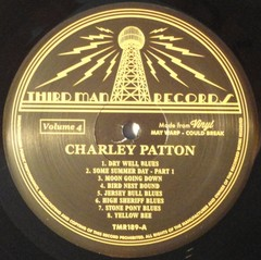 Charley Patton - Complete Recorded Works In Chronological Order Vol. 4 [LP]
