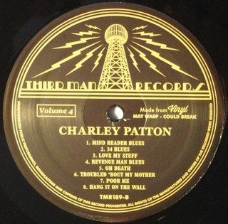 Charley Patton - Complete Recorded Works In Chronological Order Vol. 4 [LP] - loja online