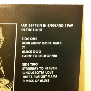 Led Zeppelin - In The Light 1969 [LP] - 180 Selo Fonográfico