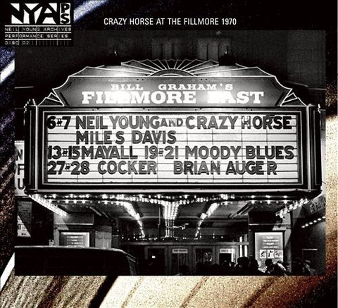 Neil Young & Crazy Horse - Live at The Fillmore East 1970 [LP]