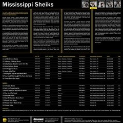 The Mississippi Sheiks - Complete Recorded Works In Chronological Order Vol. 2 [LP]