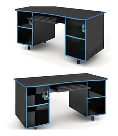 Escritorio Gamer Mueble Pc Operativo Playstation Xbox One Nintendo Color A Elección  Ai07 - Alto Impacto