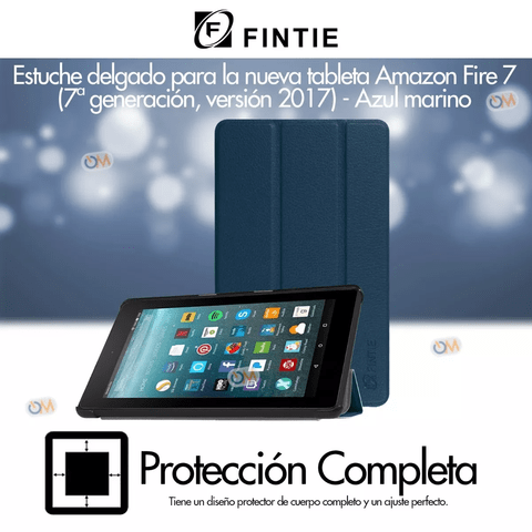 Funda Tablet Cover Fintie Amazon Fire 7 Colores - comprar online