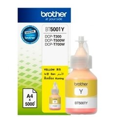 Botella Tinta Yellow BROTHER - BT5001Y