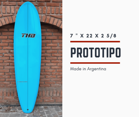 Tabla de Surf Funboard THB Iniciante/Intermedio  7`