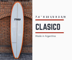 Tablas de Surf Funboard THB Iniciante/Intermedio 7`6
