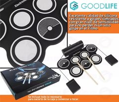 Bateria Electronica 7 Pads Doble Pedal - comprar online