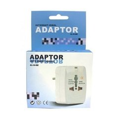 Adaptador Universal de tomada Internacional All-in-One na internet