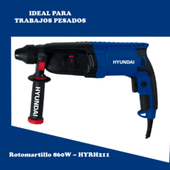 Rotomartillo HYUNDAI  HYRH211  26MM SDS Plus 860W - comprar online