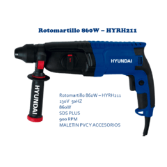 Rotomartillo HYUNDAI  HYRH211  26MM SDS Plus 860W en internet