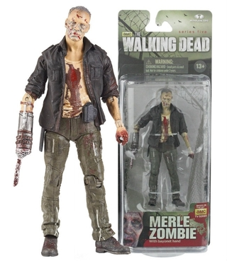 The Walking Dead - Merle Zombie - Série 5 - Bonecos De Acão