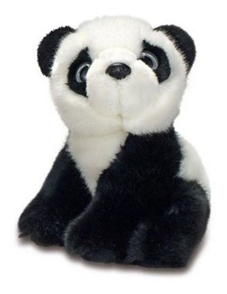 Pelúcia Animal Planet 15 Cm Urso Panda 83193
