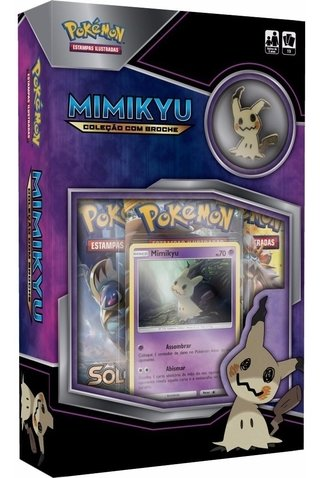Cards Mini Box Pokémon Mimikyu