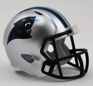 Miniatura Capacete Nfl  Carolina Panthers  - Riddell