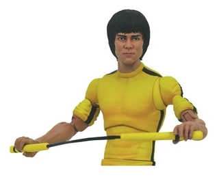 Figura Bruce Lee Yellow Jump Suit - Select - Diamond