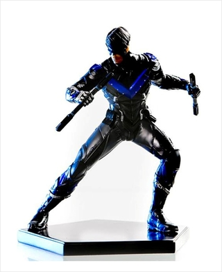 Nightwing - Arkham Knight - 1/10 Art Scale - Iron Studios (não lacrado)