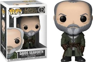 Davos Seaworth #62 Game Of Thrones Pop Funko Com Inmetro