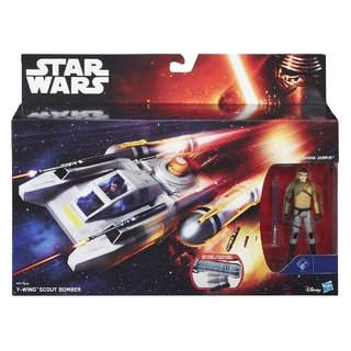 Veículo Star Wars Class I Deluxe Y-wing Scout Bomber B3675