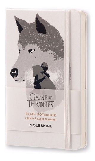 Caderno Moleskine De Bolso Sem Pauta Game Of Thrones 3083