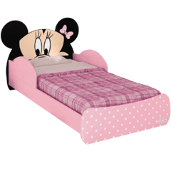 Mini Cama Minnie - PURA MAGIA na internet