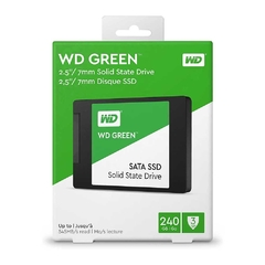 Disco Solido Ssd Western Digital Green 240 Gb 2.5'' Sata - comprar online