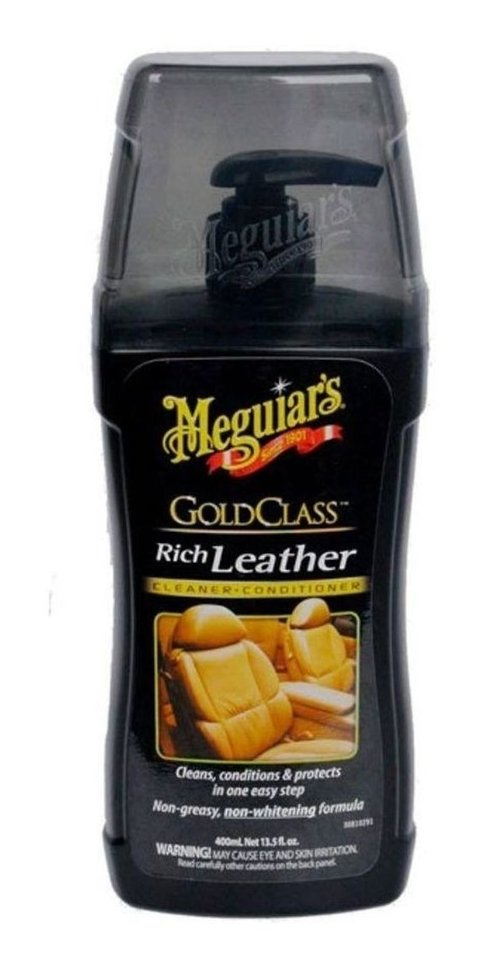 Hidratante De Couro Gold Class Meguiars New G17914 400ml