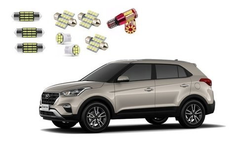 Kit Lampadas Led Hyundai Creta