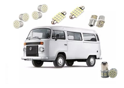 Kit Lampadas Led Tipo Xenon Kombi
