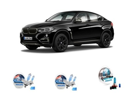 Kit Lampadas Philips Crystal Vision Bmw X6
