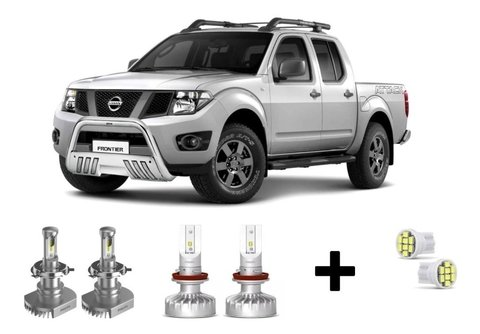Kit Super Led Philips Ultinon + Brinde Nissan Frontier