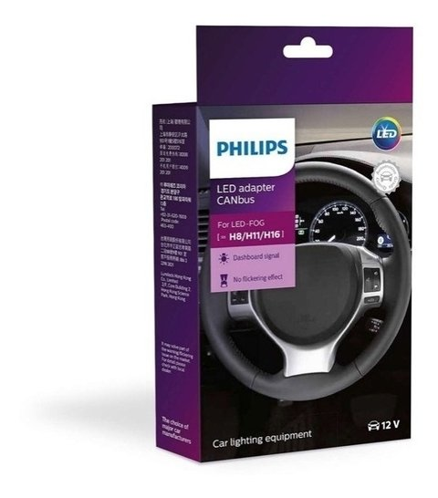 Par Canceller Canbus Led Philips H8 H11 H16 Lampada Philips