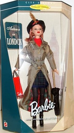 Autumn in London Barbie doll - comprar online