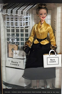 I Left my Heart in San Francisco Barbie doll - See's Candies