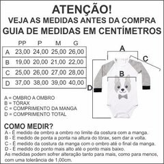 Body Menino Manga Longa - Tie Wear