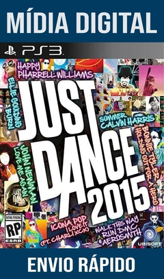 Just Dance 2015  Ps3 Psn Mídia Digital (Leg Br)