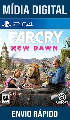 Far cry New Dawn Ps4 Psn Original 1 Mídia Digital (Dub Br)