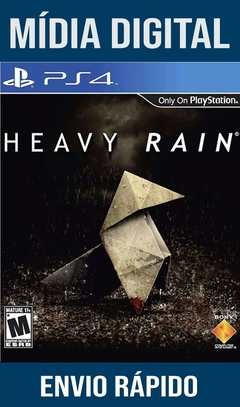 Heavy Rain Ps4 Psn Original 1 Mídia Digital (DUB BR)