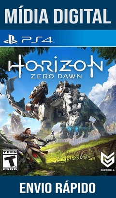 Horizon Zero Dawn Ps4 Psn Original 1 Mídia Digital (Dub Br)