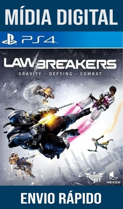 Lawbreakers Ps4 Psn Original 1 Mídia Digital