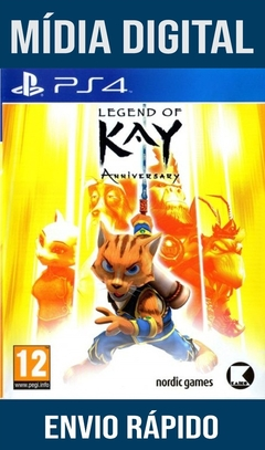 Legend Of Kay Anniversary Ps4 Psn Original 1 Mídia Digital